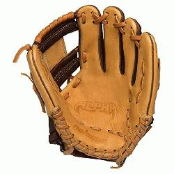 Alpha Baseball Glove 11.25 inch I Web (Right Hand Throw) : The No