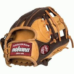 Nokona Alpha Baseball Glove 11.25 inch I Web (Right Hand Thro