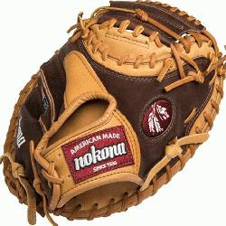lpha Baseball Catchers Mitt 33 inch (Right Handed Throw) : The Nokona A
