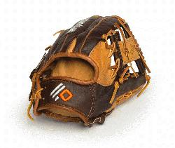 The Alpha Select youth performance series gloves from Nokona are made with top-of-the-line leather