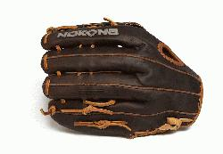 outh premium baseball glove. 11.75 inch. This Youth performance series is made with Nokonas to