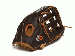 mium baseball glove. 11.75 in