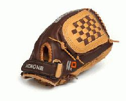 us Baseball Glove for young adult players. 12 inch pattern, closed web, and closed