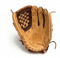Nokona Select Plus Baseball Glove for young adult players. 12 inch pattern, closed we