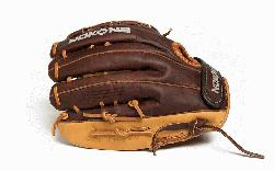 Baseball Glove for young adult players. 12 inch pattern, closed web, and cl
