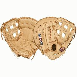 end Series First Base Mitt AL1250FBH (Right Handed Throw) : A full Nokona Fir
