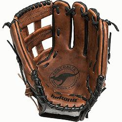 Fastpitch Buckaroo Softball Glove 11.75 inch (Right Hand Throw) : Nokona Black Bu