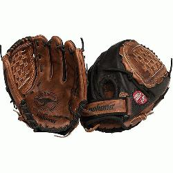 lack Buckaroo Softball Glove. Closed Web and 12.5