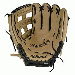 top-of-the-line bloodline baseball glove is now available in a blacksa