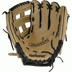 -the-line bloodline baseball glove is now available in a blacksand