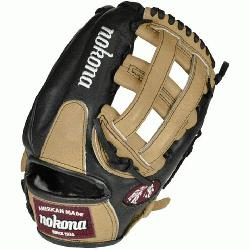 nas top-of-the-line bloodline baseball glove is now available in a blacksandstone lea