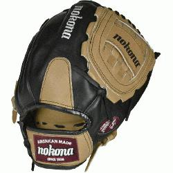 okona Bloodlne Pro Elite Sandstone Baseball Glove Closed Web. A unique tanning process g