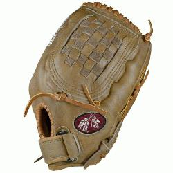 okona Banana Tan Fast Pitch BTF-1250C Softball Glove 12.5 inch (Right Handed Throw) : Nokona