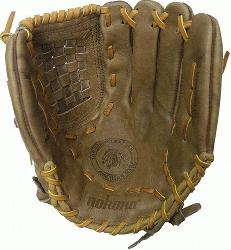 ona Banana Tan Fastpitch BTF-1300C Softball Glove (Right Handed Throw) : A long-ti