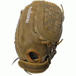nana Tan Fastpitch BTF-1300C Softball Glove (Right Handed Throw) : A long-time Nokona favorite, Nok