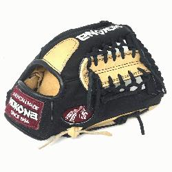 ng Adult Glove made of American Bison and Supersoft Steerhide leather combined