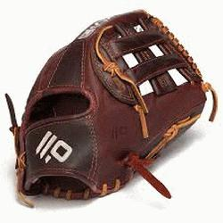 Open Back. 11.75 Infield Pattern Kangaroo Leather Shell - Co