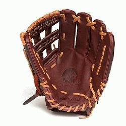 Back. 11.75 Infield Pattern Kangaroo Leather Shell - Combines Superior Dur