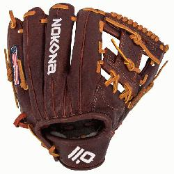 .50 Inch Pattern Infielder Glove Kangaroo Leather Shell Combines Superior Durability With Outst
