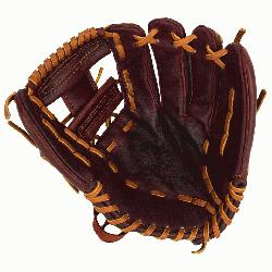 Inch Pattern Infielder Glove Kangaroo Leather Shell Comb