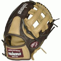 (SandstoneChocolate Kangaroo) Baseball Glove H Web 11.75 (Right Handed Throw) : Chocolate Kangaroo