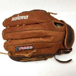 Fastpitch BKF-1300C Fastpitch Softball Glove (Right Handed Throw) : Nokona has perfecte