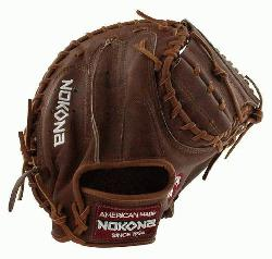 Inch Catchers Mitt, Closed Web, Conventional Open Back Index Finger