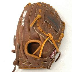 pNokona American Made Baseball Glove with Classic Walnut Steer Hide. 11 inch patt