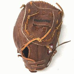 Walnut 13 Softball Glove (Right Handed Throw) Size 13 : Nokonas signature leather, Walnut