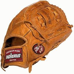a Generation 13 inch Slow Pitch softball glove. 13 inch