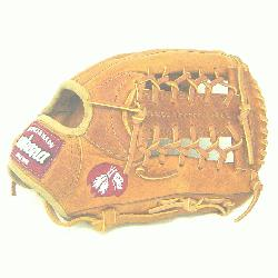 ion 11.5 inch baseball glove with modified trap web. Inspired by Nokonas herit