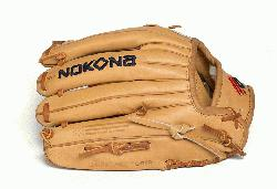 rain steerhide Ameirican Legend Pro Series from Nokona. Made in USA