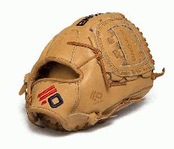 an made Legend Pro Series featuring top grain steer hide. Utlity Pitcher pattern