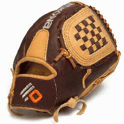 Nokona Alpha Select Premium youth baseball glove. The S-100 is a combination