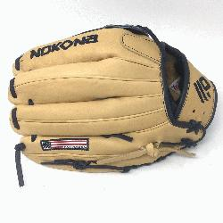 Outfield Pattern H-Web Palm Leather American Bison, Back Leather Japanese Ca