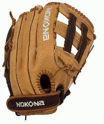 mium Buffalo and Steerhide Leather Nokona s Alpha Series Lightweight and Durable