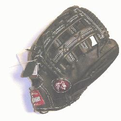 professional steerhide Baseball Glove with H web and conventional open back./p
