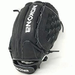 5 inch fastpitch model Requires some player break-in Adjustable wrist closure U