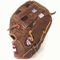 75H Walnut 11.75 Baseball Glove H Web Right Handed Throw  Nokona Walnut HHH Leather which p