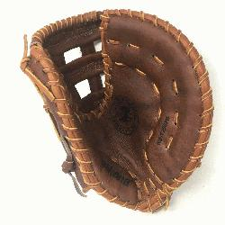 WB-1250H 12.5 H Web Walnut Baseball First Base Mitt (Right Handed Throw)