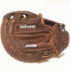 WB-1250H 12.5 H Web Walnut Baseball First Base Mitt (Right Handed Throw) : 12.5
