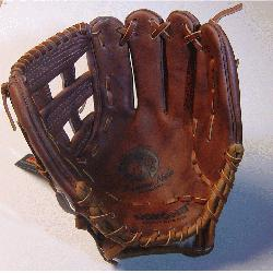 ona WB-1175H Walnut 11.75 Baseball Glove H Web Right Handed Throw  Nokona Walnut HHH Lea