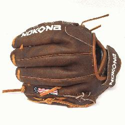 by Nokona's history of handcrafting ball gloves in America for o