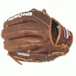 by Nokona's history of handcrafting ball glove