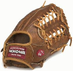 by Nokona's history of handcrafting ball gloves in America for over 80 years, the prop