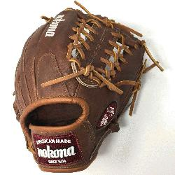 alnut WB-1150M Baseball Glove 11.5 Modified Trap Right Handed Throw Walnut H