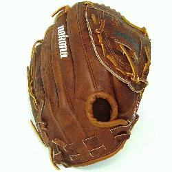 okonas signature leather, Walnut Crunch is used to craft this series of softball gloves. Nok