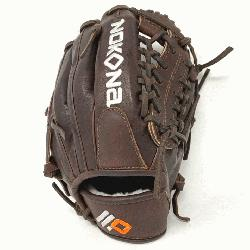 1150M an X2 Elite baseball glove, Nokonas highest performance, ready-for-play, position