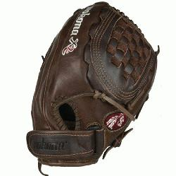X2 BuckskinKangaroo Fastpitch X2F-1250C Softball Glove (Right Handed Throw) : The X2F-1250 Nokon