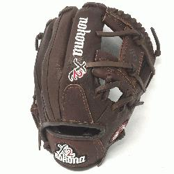 p11.5 Pitcher/Infield Pattern I-Web Stampede + Kangaroo Leather
